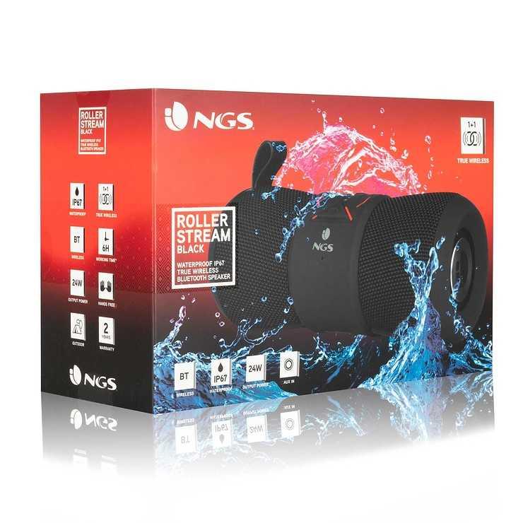 ENCEINTE ROLLERSTREAM BLUETOOTH 1.0 24W USB ngsrollerstreamblackpack02