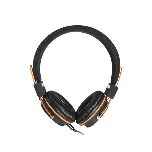 CASQUE AUDIO HP2 AVEC MICRO  NOIR/ORANGE cnechp2-2-1
