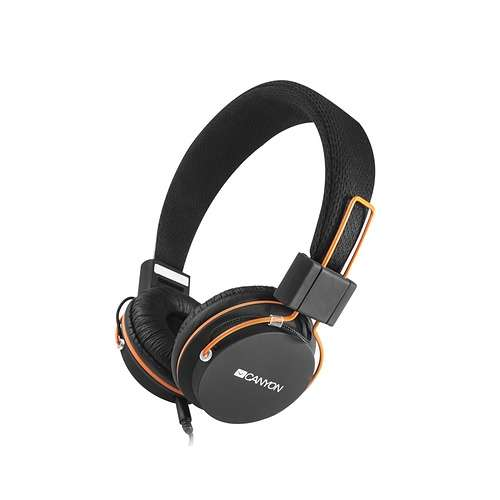 CASQUE AUDIO HP2 AVEC MICRO  NOIR/ORANGE 0