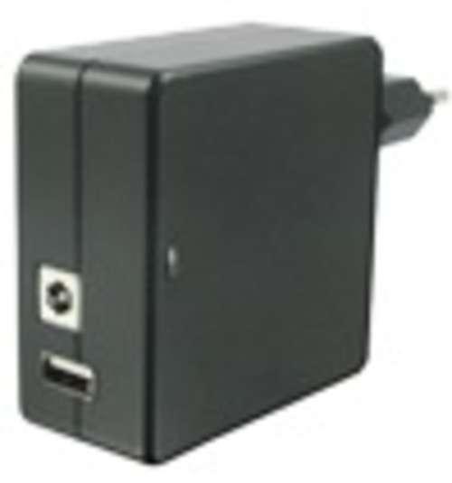 LOT DE 4 CHARGEURS SECTEUR 1 X USB 2.1A +1.5 A 30 WATTS NOIR 0