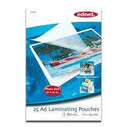 LOT DE 10 PACKS PAPIER DE PLASTIFICATION CARTE VISITE (54*86mm),125 mic(PAR 50)
