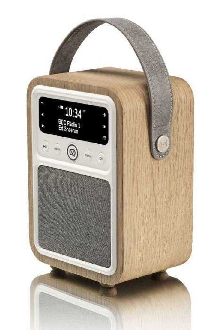 RADIO MONTY DAB / BT/ FM 10 WATTS - CHÊNE 10montyoak2