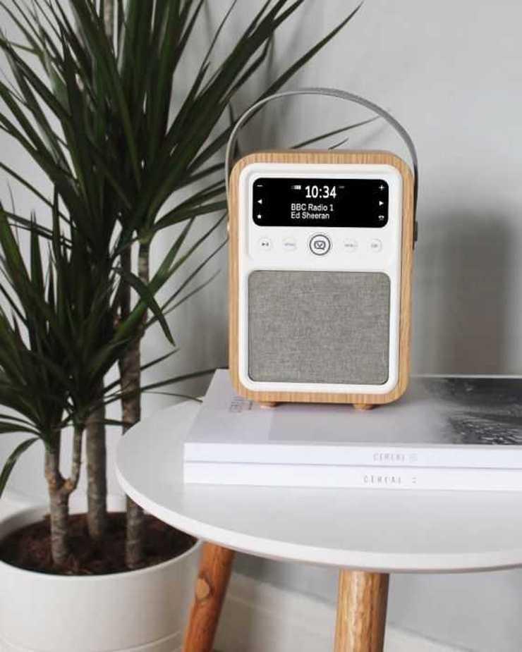 RADIO MONTY DAB / BT/ FM 10 WATTS - CHÊNE 11montyoak1
