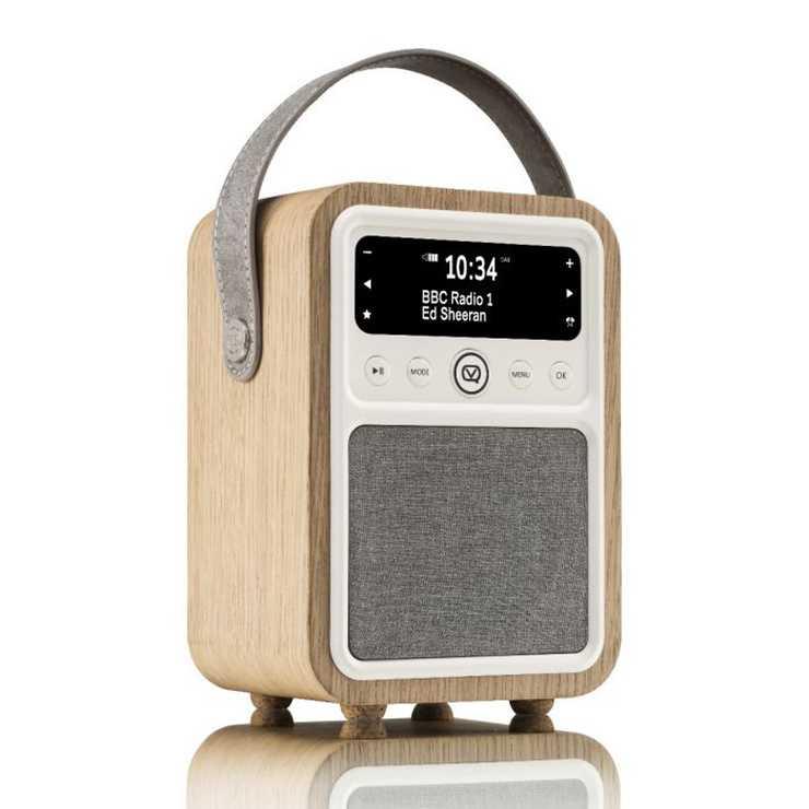 RADIO MONTY DAB / BT/ FM 10 WATTS - CHÊNE 0