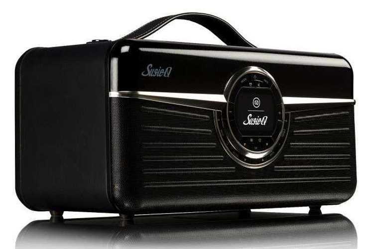 RADIO RETRO SUSIE Q DAB / DAB+ / FM/ WIFI 80 WATTS - NOIR vqsqn3