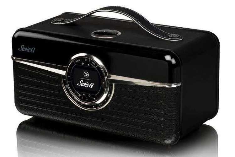 RADIO RETRO SUSIE Q DAB / DAB+ / FM/ WIFI 80 WATTS - NOIR vqsqn5