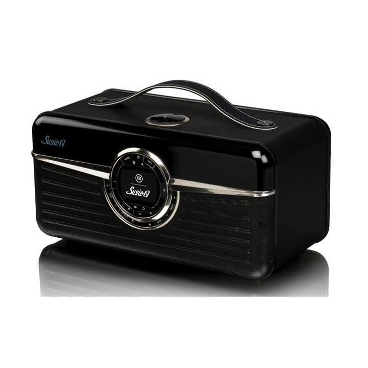 RADIO RETRO SUSIE Q DAB / DAB+ / FM/ WIFI 80 WATTS - NOIR 0