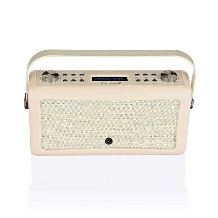 RADIO HEPBURN MKII DAB/BT/ FM 20 WATTS SIMILI CUIR - CREME vqhepmkiicr7