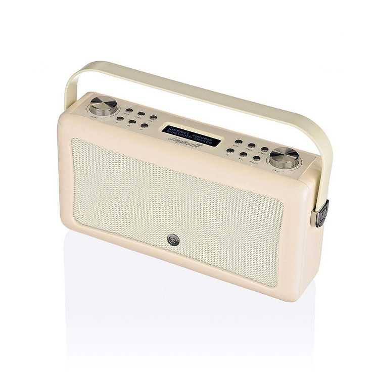 RADIO HEPBURN MKII DAB/BT/ FM 20 WATTS SIMILI CUIR - CREME 0