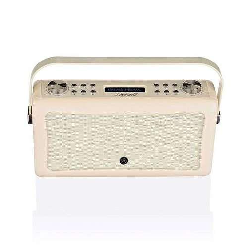 LOT DE 2 RADIOS HEPBURN MKII DAB/BT/ FM 20 WATTS SIMILI CUIR - CREME vqhepmkiicr7