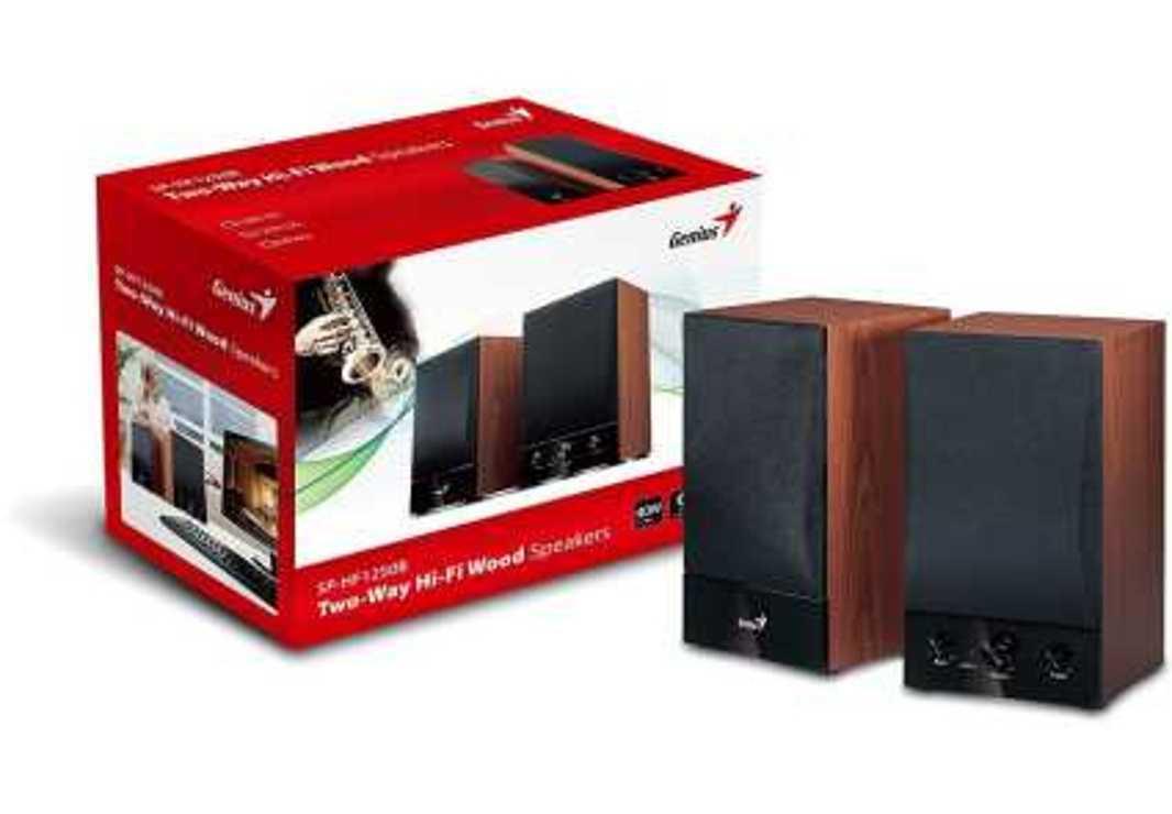 ENCEINTES SP-HF 1250B V2 BOIS 2.0 40 WATTS 317300114001
