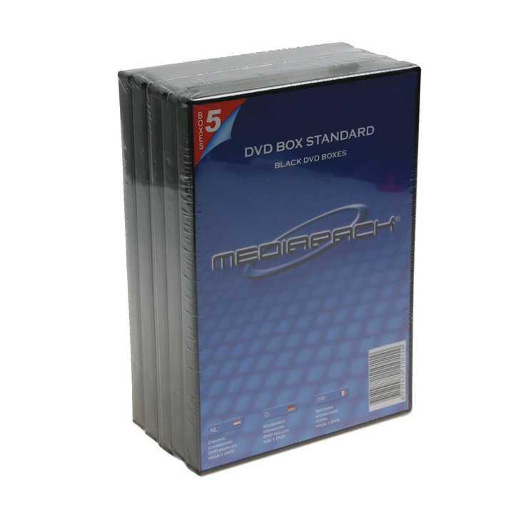 PACK DE 5 BOÎTIERS DVD 0