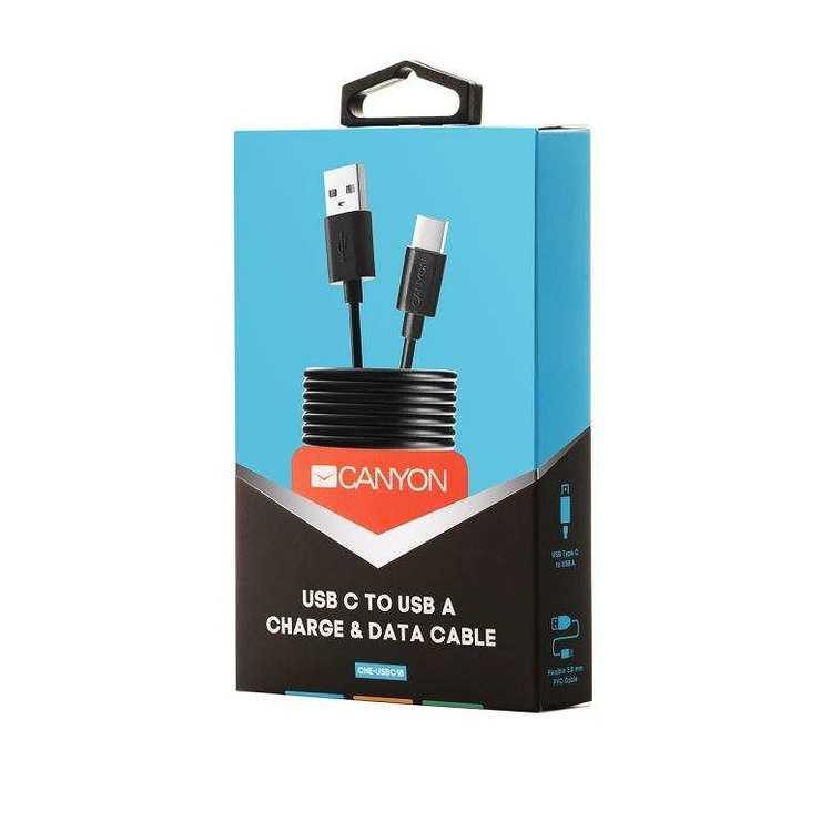 CORDON USB TYPE C 1 M - NOIR rs12405cne-usbc1b-05