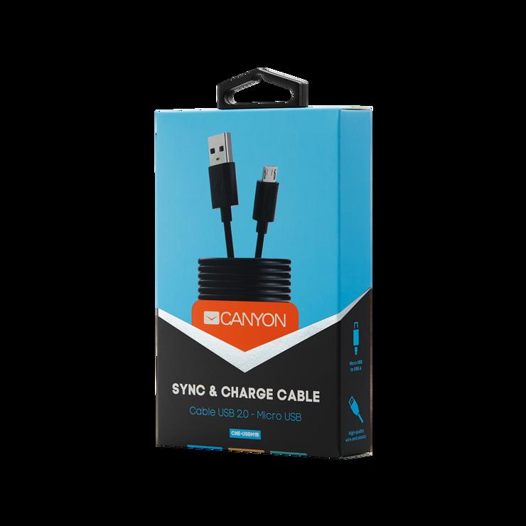 CORDON MICRO USB 1 M - NOIR rs12283cne-usbm1b05