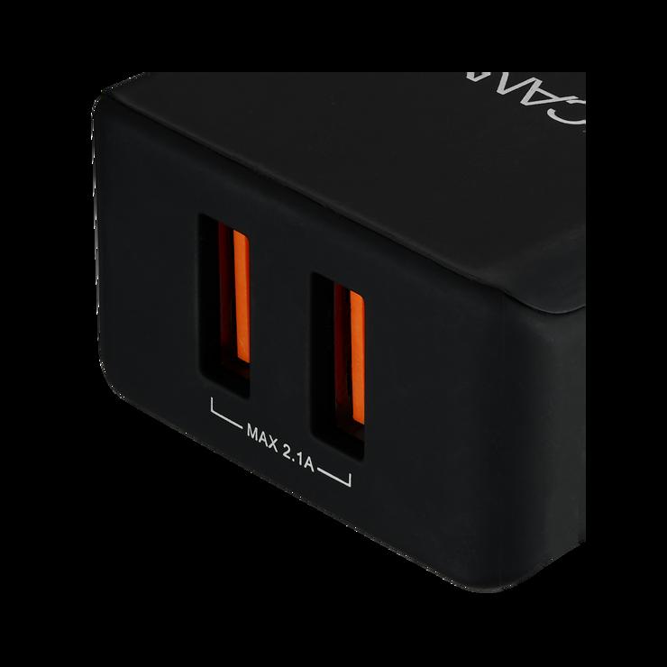CHARGEUR SECTEUR 2 X USB 3.4A cne-cha03b1