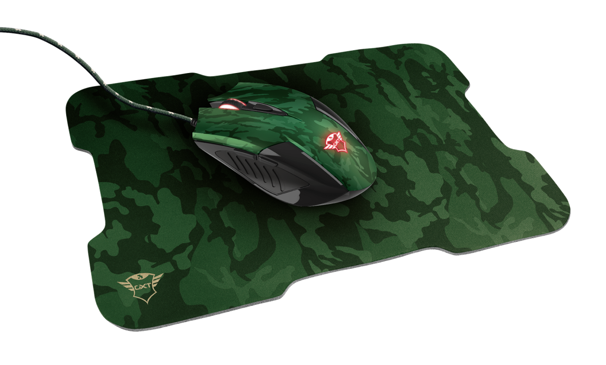 GAMING PACK GXT 781 RIXA CAMOUFLAGE SOURIS + TAPIS tr236113