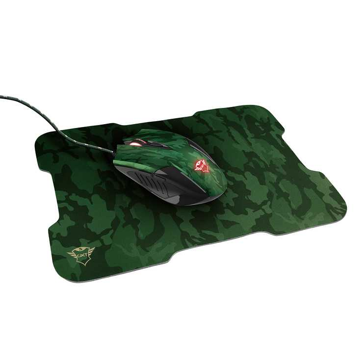 GAMING PACK GXT 781 RIXA CAMOUFLAGE SOURIS + TAPIS 0