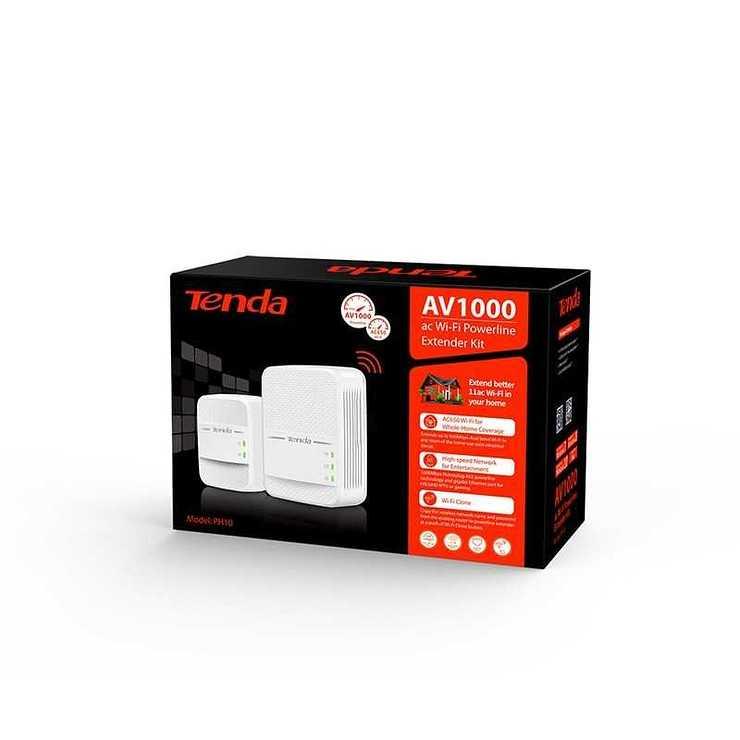 CPL KIT 2 X CPL AV1000 WIFI 650MBIT/S 2 PORTS GIGABIT ph102