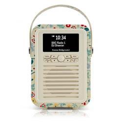 RADIO RETRO MINI DAB / BT FM 5 WATTS SIMILI CUIR EMMA.B - SPRING