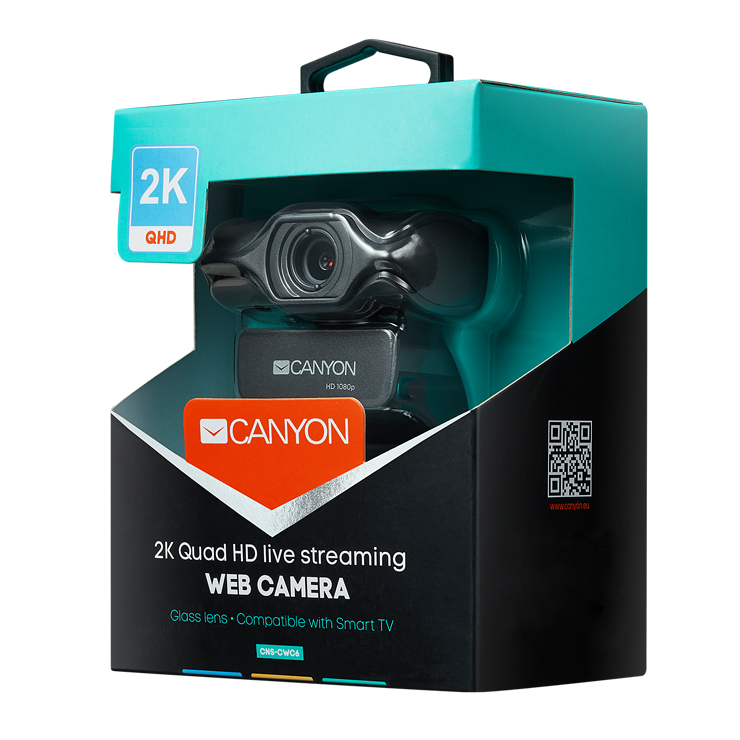 CAMERA CWC6 2K QUADHD LIVE STREAMING cns-cwc6-package