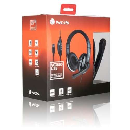 CASQUE + MICRO VOX 800 USB ngsvox800pack21