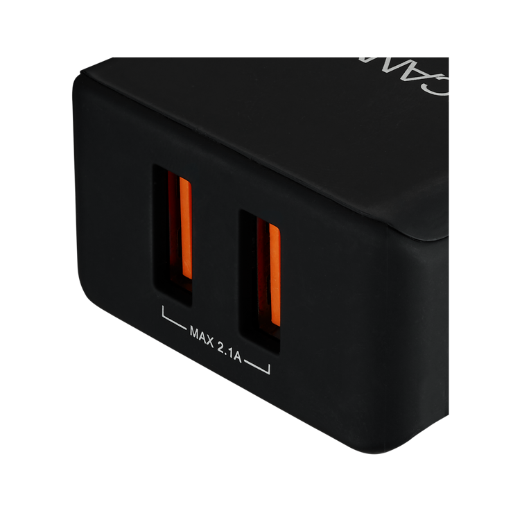 LOT DE 10 CHARGEURS SECTEUR 2 X USB 3.4A cne-cha03b1