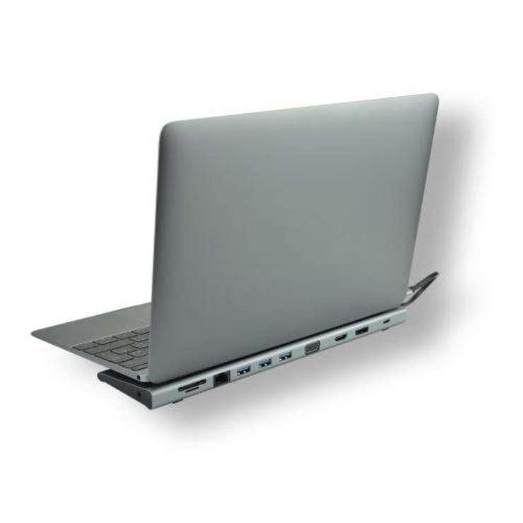 STATION D''ACCUEIL MCL USB TYPE C MULTIPORTS 11 EN 1 BLISTER mcl-usb3c-555-station-d-accueil-usb-type-c-multi-ports-11-en-11