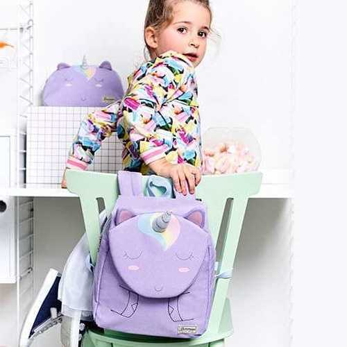 SAC A DOS HAPPY SAMMIES LICORNE TAILLE S 106462-65582