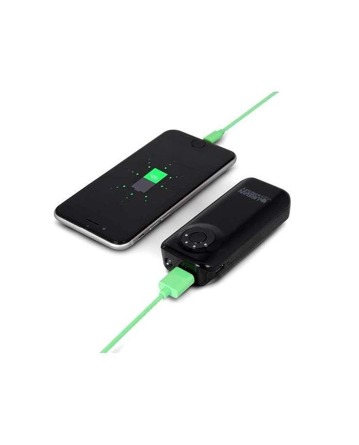 LOT DE 10 CHARGEURS SMARTPHONE/TABLETTE 4400MAH - NOIR bat46ufnoir1