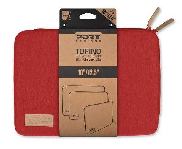 "HOUSSE TORINO 10/12.5"" ROUGE 140405-3"