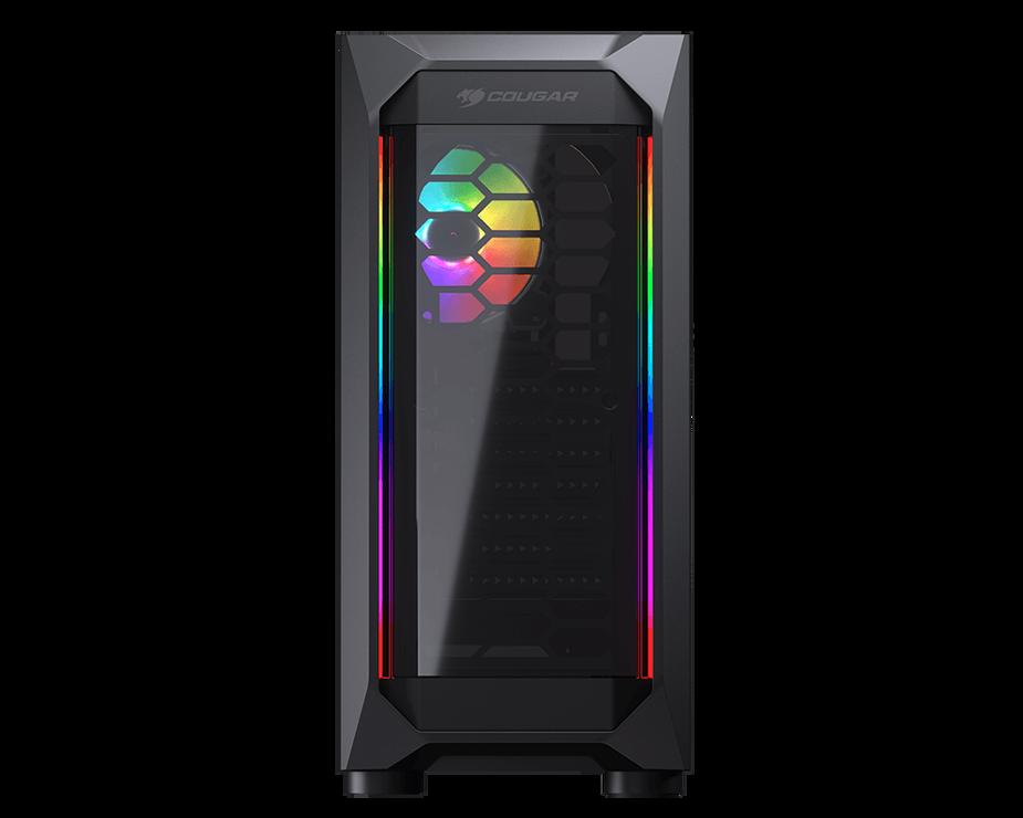 BOITIER PC GAMING MX410 PANNEAU ACRYLIQUE RGB 02-11
