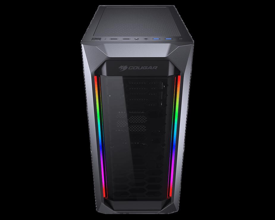 BOITIER PC GAMING MX410 PANNEAU ACRYLIQUE RGB 03-2