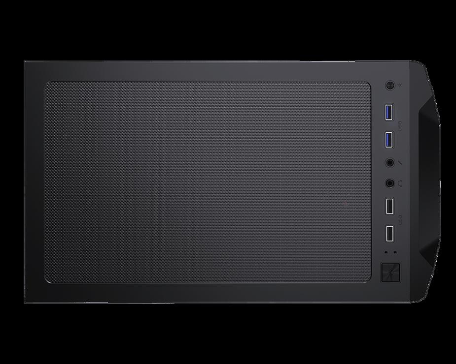 BOITIER PC GAMING MX410 PANNEAU ACRYLIQUE RGB 06-2