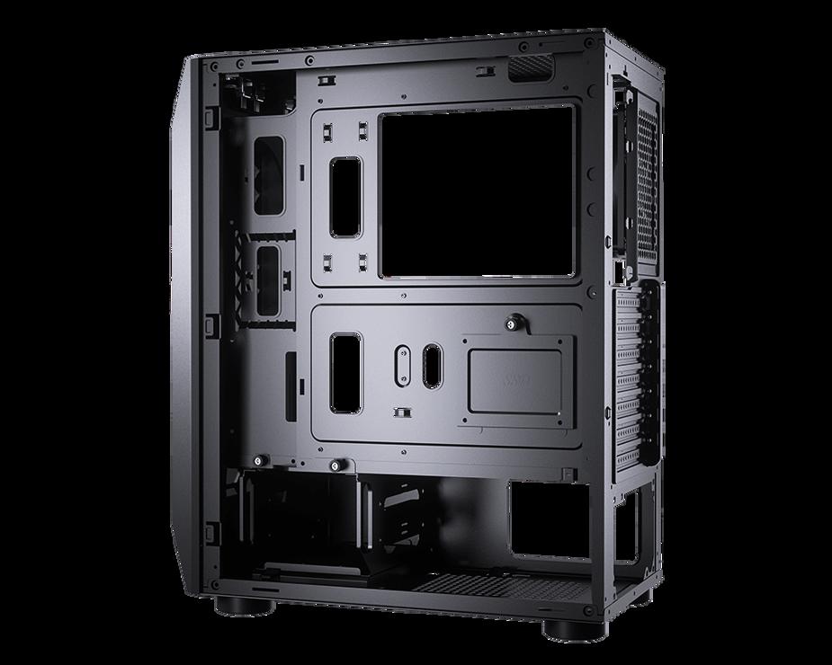 BOITIER PC GAMING MX410 PANNEAU ACRYLIQUE RGB 10-2