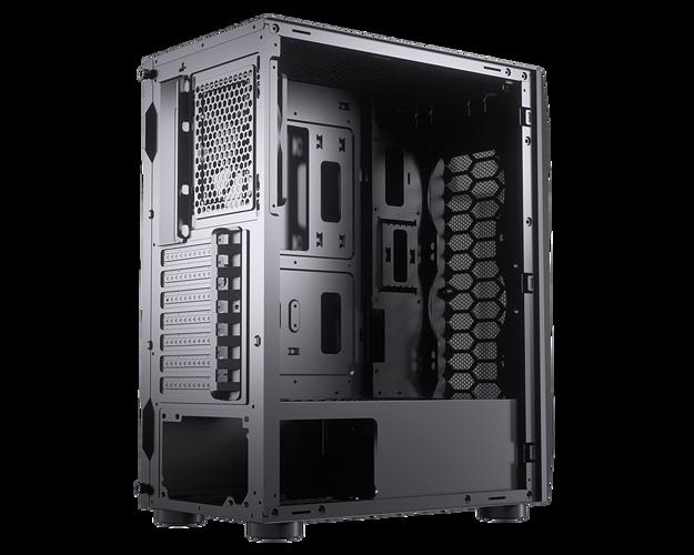 BOITIER PC GAMING MX410 MESH G PANNEAU GRILLE NID D''ABEILLE 09-m