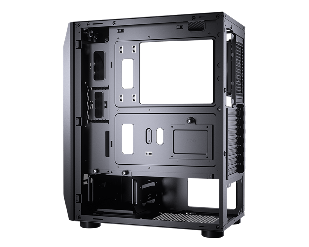 BOITIER PC GAMING MX410 MESH G PANNEAU GRILLE NID D''ABEILLE 10-m
