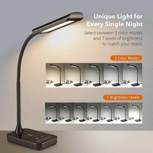 LAMPE LED DL011 taotronics-desk-lamp-flexible-gooseneck-table-lamp-dl11-gallery-21024x1024