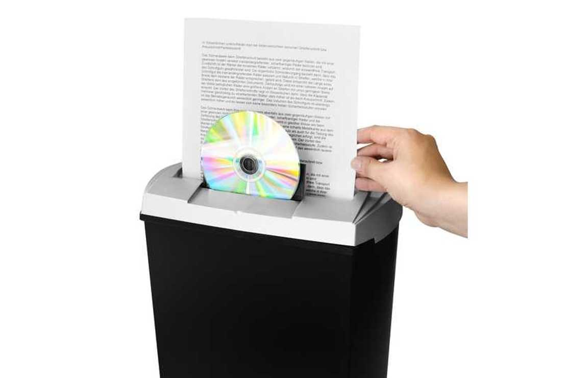 DESTRUCTEUR PAPIER S7CD - FEUILLES/CD/DVD/CB 13 LITRES da8160540160324597741