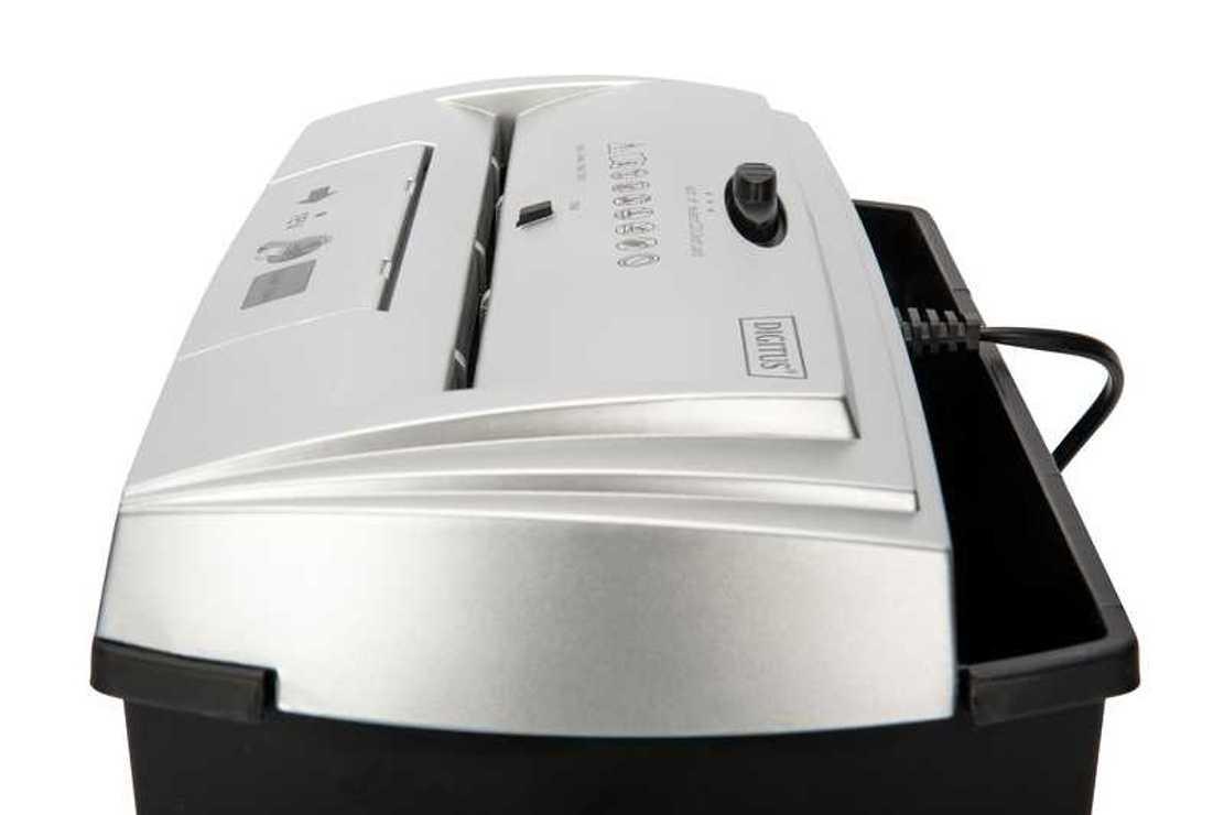DESTRUCTEUR PAPIER S7CD - FEUILLES/CD/DVD/CB 13 LITRES da8160540160324597745