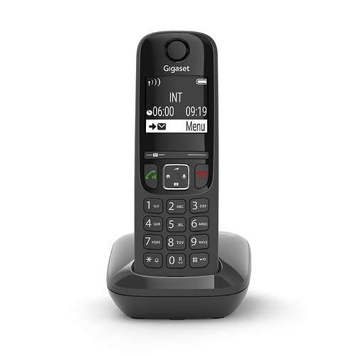 TELEPHONE AS690 SOLO SANS FIL NOIR 0