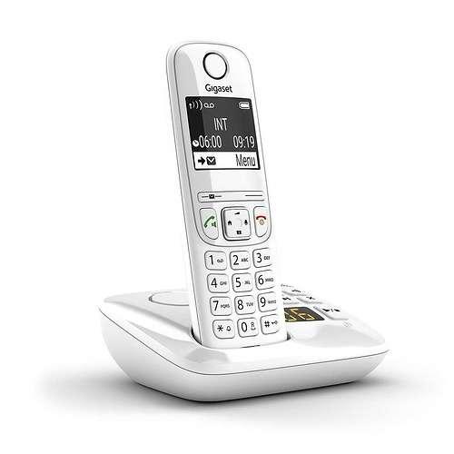 TELEPHONE AS690A SOLO REPONDEUR SANS FIL BLANC as690awhitetl