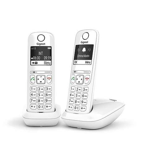 TELEPHONE AS690 DUO SANS FIL BLANC as690duowhitetr
