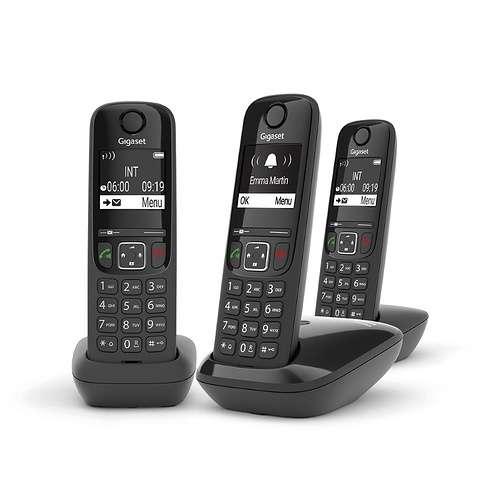 TELEPHONE AS690 TRIO SANS FIL NOIR 0