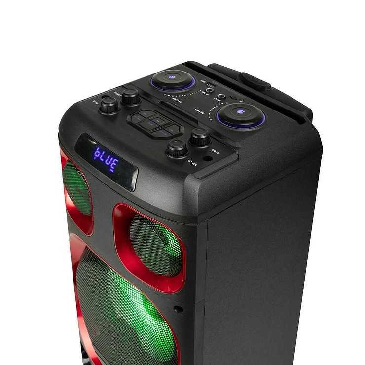LOT DE 6 HP WILDSKA0 RGB AVEC MICRO BT 4.2 120 WATTS ngswildskazero3