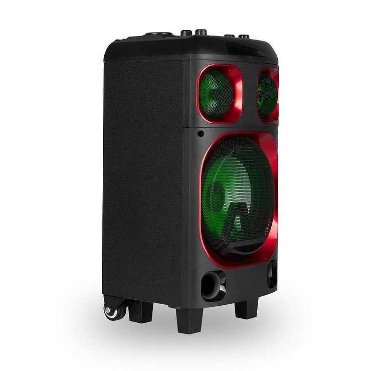 LOT DE 6 HP WILDSKA0 RGB AVEC MICRO BT 4.2 120 WATTS ngswildskazero6