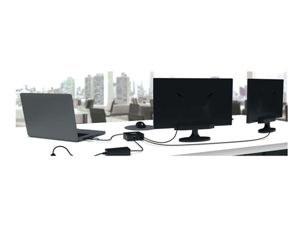 STATION D'ACCUEIL USB-C & USB-A DOUBLE SORTIE VIDEO 9019081