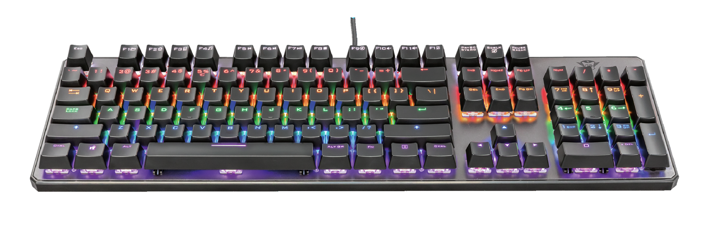 CLAVIER GAMING GXT-865 ASTA RGB MECANIQUE LED NOIR PC tr232013