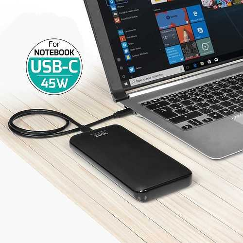 CHARGEUR 18 000 MAH 45W TYPE C PD – RETAIL 900117-port-powerstation18000mah45wtypecpd-power