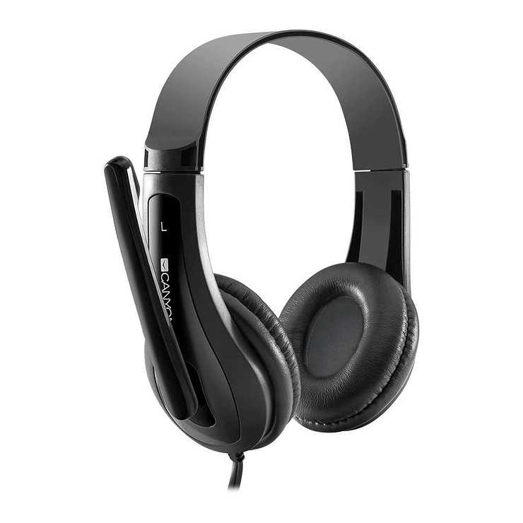 CASQUE MICRO HSC1 TOUR DE TETE SINGLE JACK NOIR cnschsc1b4