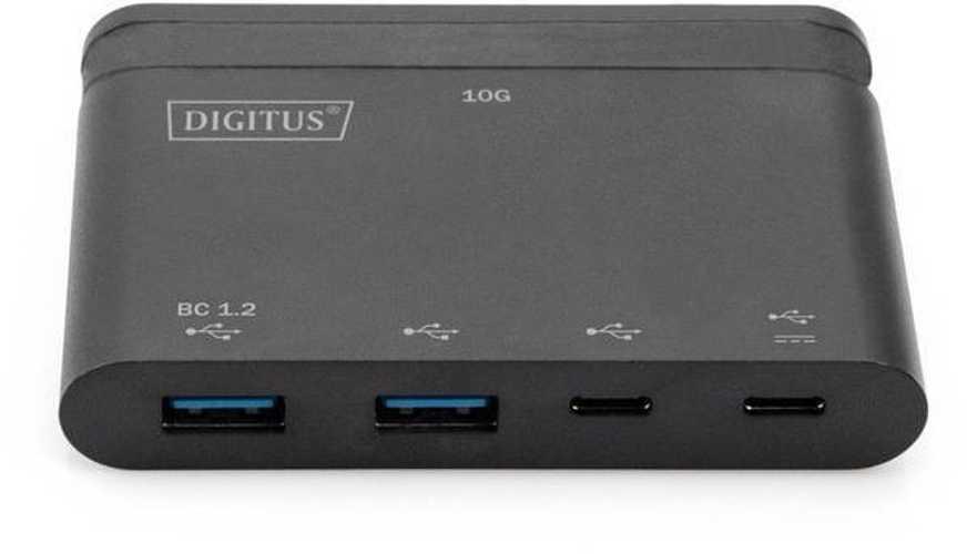 HUB 4 PORTS USB-C 2 X USB TYPE C + 2 X USB 3.0 NOIR da702562